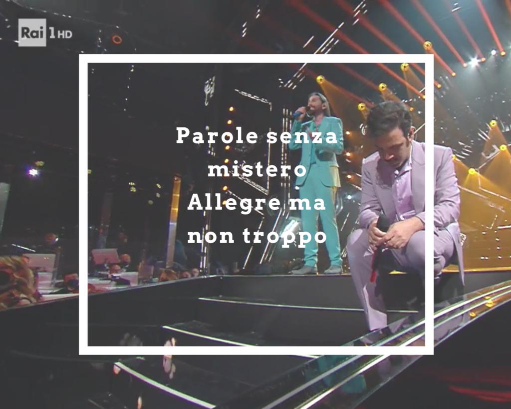 Colapesce e DImartino scrivono l'inno di Sanremo